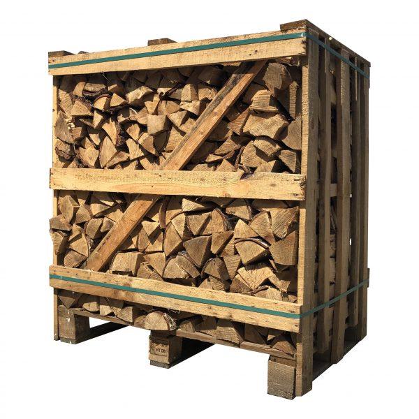 Berkenhout ovengedroogd (pallet 1 kuub) - haardhouttoppers.nl